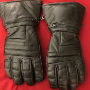 Leather gloves for men Thinsulate 3M XL